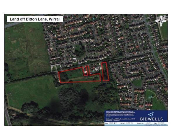 Thumbnail Land for sale in Ditton Lane, Moreton, Wirral