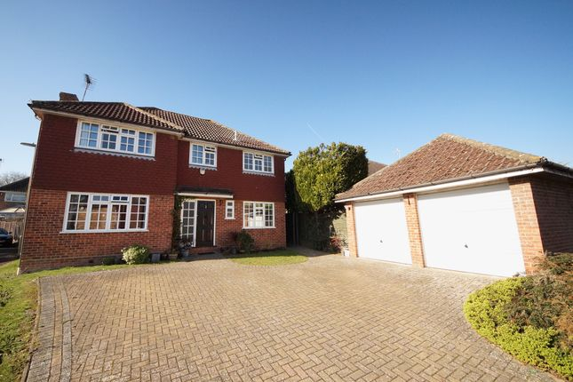 Thumbnail Detached house for sale in Four Acre Coppice, Hook