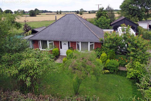 Thumbnail Detached bungalow for sale in Brettenham, Ipswich
