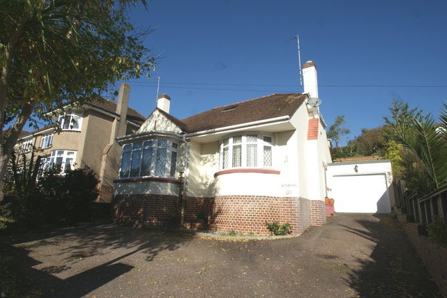 Thumbnail Detached bungalow for sale in Barcombe Road, Preston, Paignton