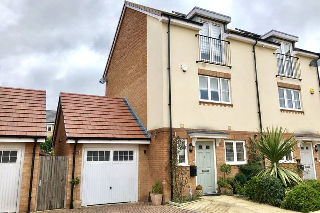 Thumbnail Semi-detached house for sale in Braham Crescent, Leavesden, Watford