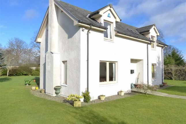 Thumbnail Detached house for sale in Myreriggs Road, Blairgowrie, Perthshire