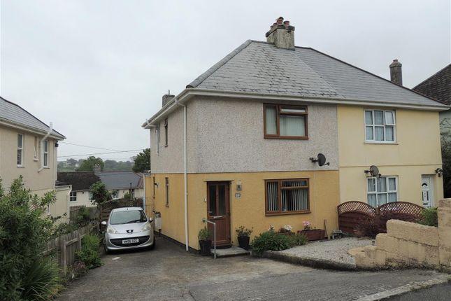 Thumbnail Semi-detached house for sale in Landreath Place, St. Blazey, Par