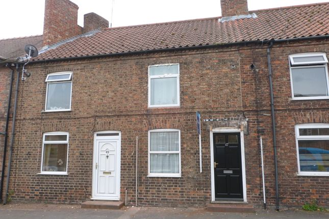 Thumbnail Terraced house to rent in Long Street, Easingwold, York