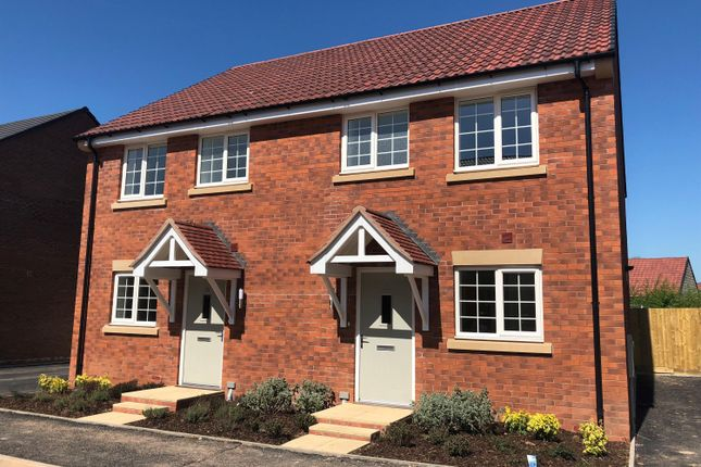 Thumbnail Semi-detached house for sale in Knight Road, Wells, Somerset