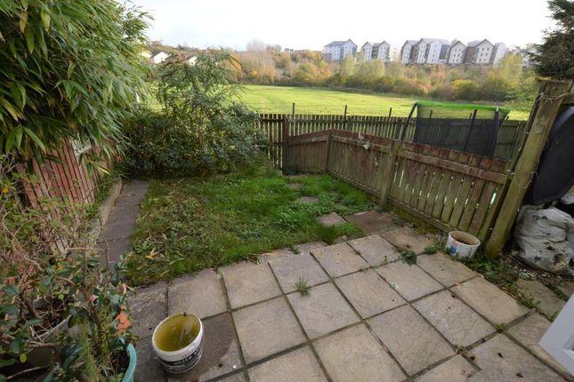 Garden of Shetland Close, The Willows, Torquay, Devon TQ2