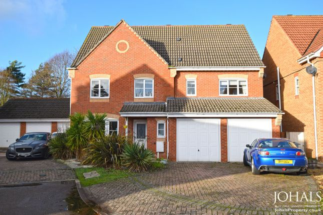 Thumbnail Detached house for sale in Wetherby Close, Leicestershire