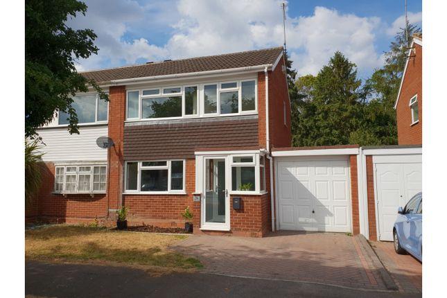 Thumbnail Semi-detached house for sale in Ledbury Close, Redditch