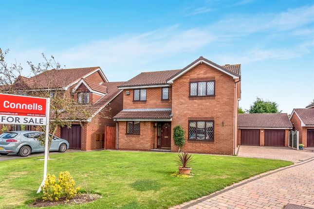 Thumbnail Detached house for sale in Grocott Close, Penkridge, Stafford