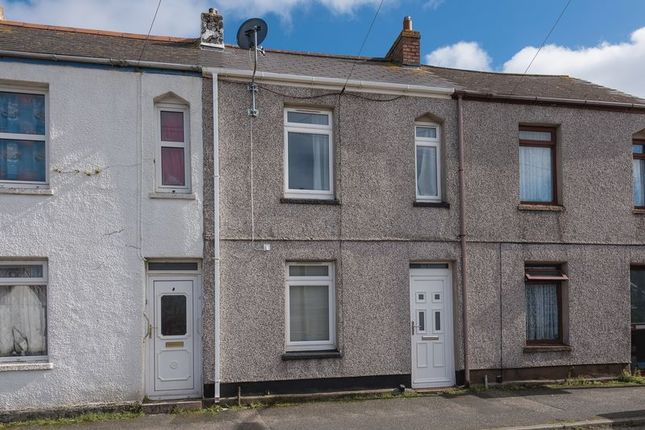 Thumbnail Terraced house for sale in Cliff View Terrace, Camborne