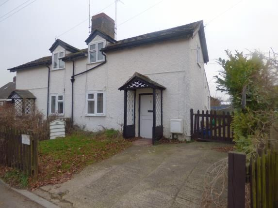 Thumbnail Semi-detached house for sale in Cross Cottages, Rea Lane, Hempsted, Gloucester