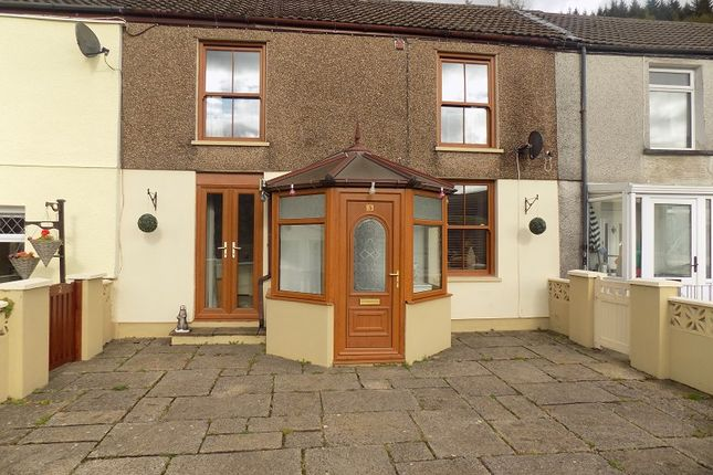 Thumbnail Terraced house for sale in Hoddinotts Houses, Pentre, Rhondda, Cynon, Taff.