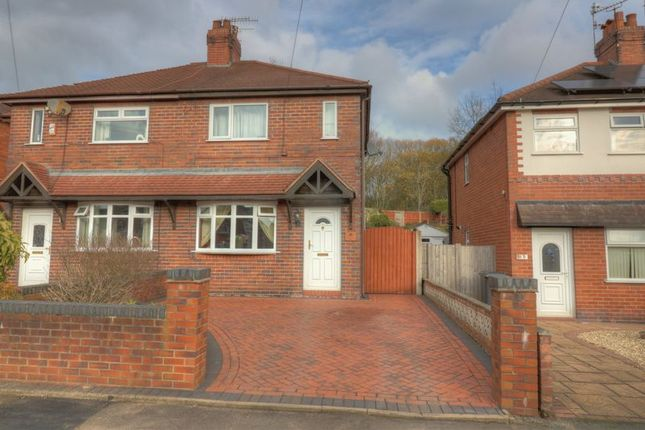 Thumbnail Semi-detached house for sale in Newcastle Street, Silverdale, Newcastle-Under-Lyme
