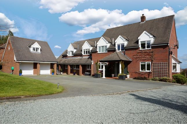 Thumbnail Detached house for sale in Silverdale Drive, Oswestry