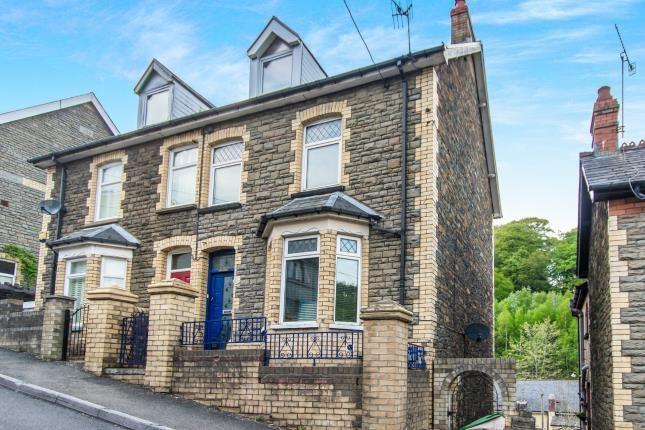 Thumbnail End terrace house for sale in Hillside Road, Crumlin, Newport, Caerffili