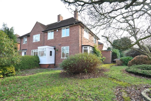Thumbnail Semi-detached house for sale in Heath Road South, Bournville Village Trust, Northfield
