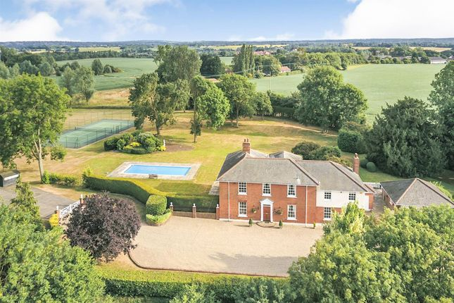 Thumbnail Detached house for sale in Blackmore Road, Fryerning, Ingatestone