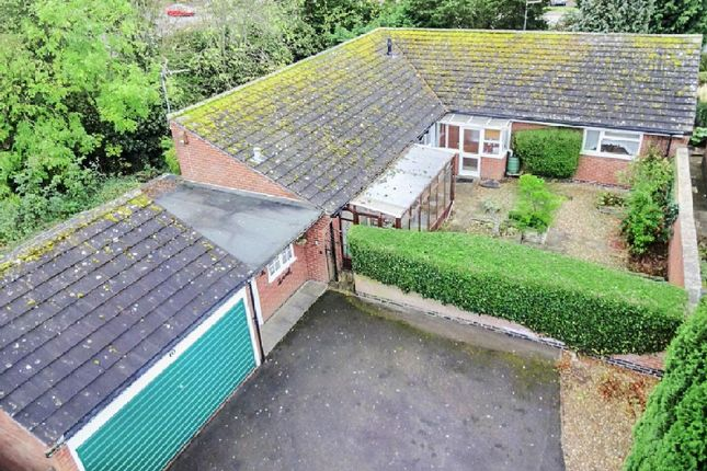 Thumbnail Bungalow for sale in Cottesmore Avenue, Oadby, Leicester