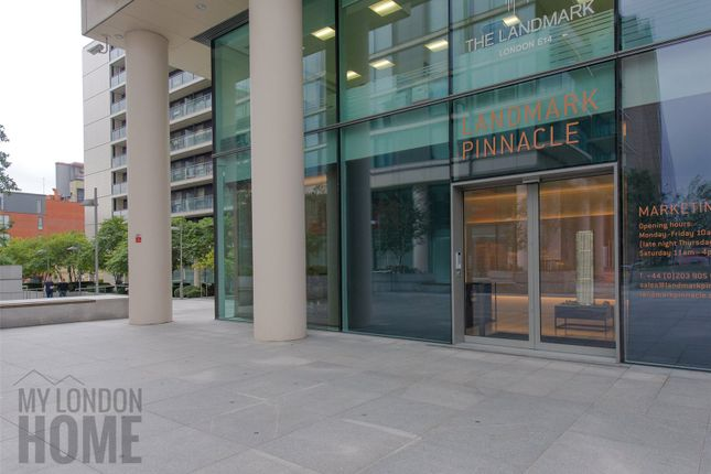 Thumbnail Flat for sale in Landmark Pinnacle, 10 Marsh Wall, Canary Wharf, London