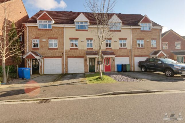 Thumbnail Town house to rent in 78 Wain Avenue, Riverside, Chesterfield, Derbyshire