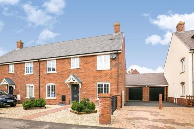 Thumbnail Semi-detached house for sale in Avocet Road, Wixams