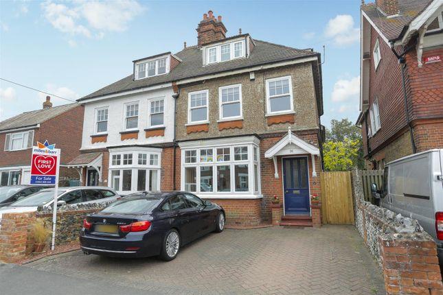 Thumbnail Semi-detached house for sale in Epple Bay Road, Birchington