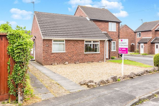 Thumbnail Semi-detached house for sale in Deanside Drive, Loughborough