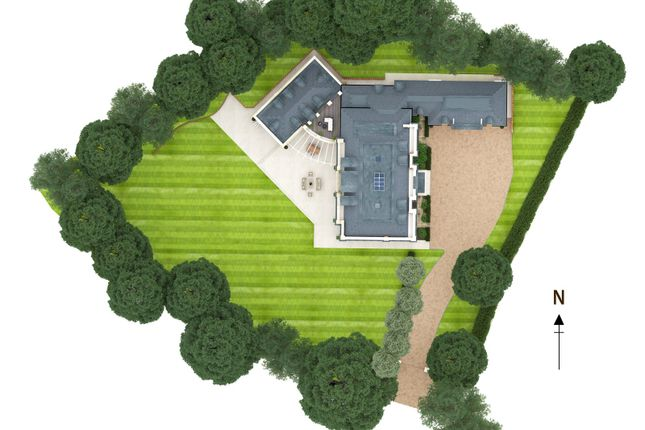 Thumbnail Detached house for sale in Pipers End, Virginia Water, Surrey
