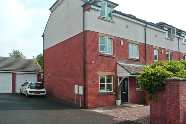 Thumbnail End terrace house to rent in Nursery Mews, Morpeth