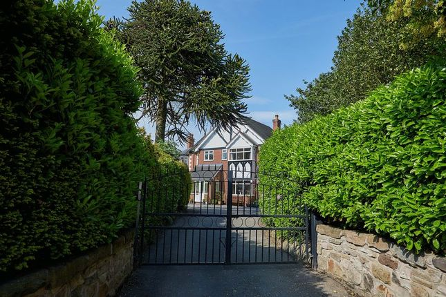 Thumbnail Detached house for sale in Park Lane, Congleton, Cheshire