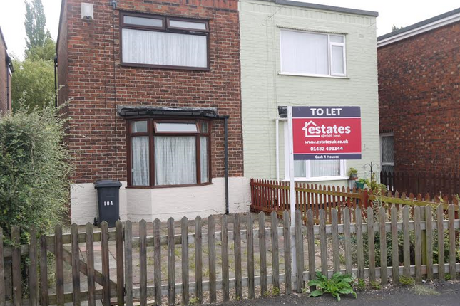 Thumbnail Semi-detached house to rent in Colwall Avenue, Hull