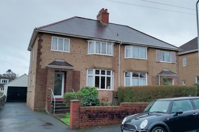3 bed semi-detached house for sale in Brookvale Road, West Cross, Swansea SA3