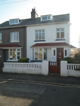 Thumbnail Semi-detached house to rent in Cliff Villa, Clifton Road North, Port St Mary