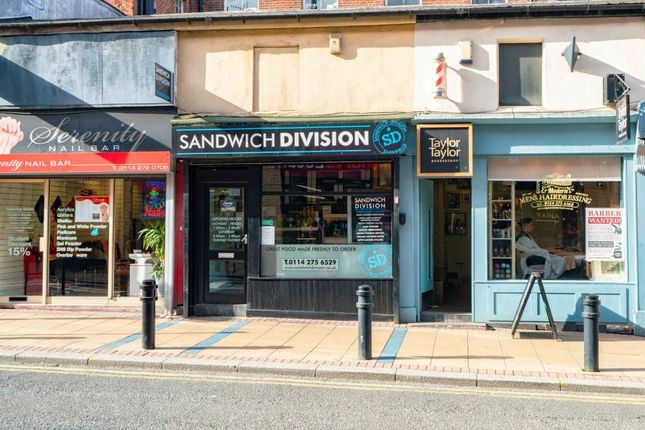 Thumbnail Retail premises for sale in Division Street, Sheffield