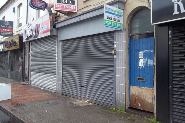 Thumbnail Commercial property to let in Ladypool Road, Sparkbrook, Birmingham