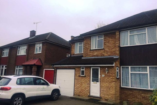 Thumbnail Semi-detached house to rent in Stanley Close, Gidea Park, Romford