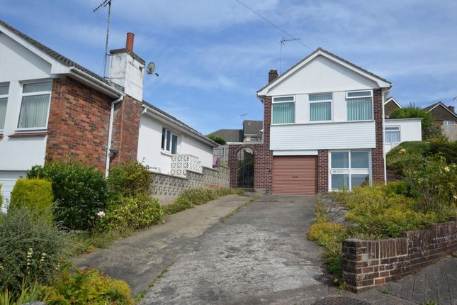 Thumbnail Detached house for sale in Grosvenor Close, Cadewell, Torquay, Devon