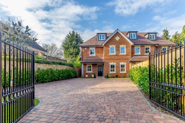 Thumbnail Semi-detached house for sale in Old Avenue, St. Georges Hill, Weybridge
