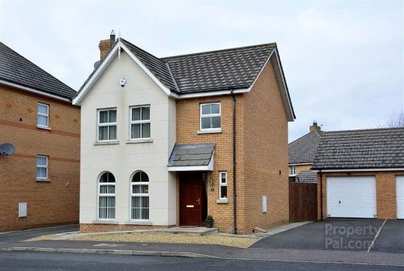 Thumbnail Detached house to rent in Mornington View, Ballinderry Upper, Lisburn