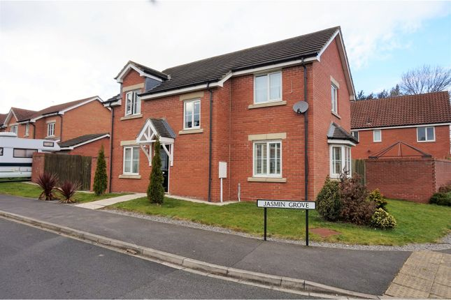 Thumbnail Detached house for sale in Jasmin Grove, Newton Aycliffe