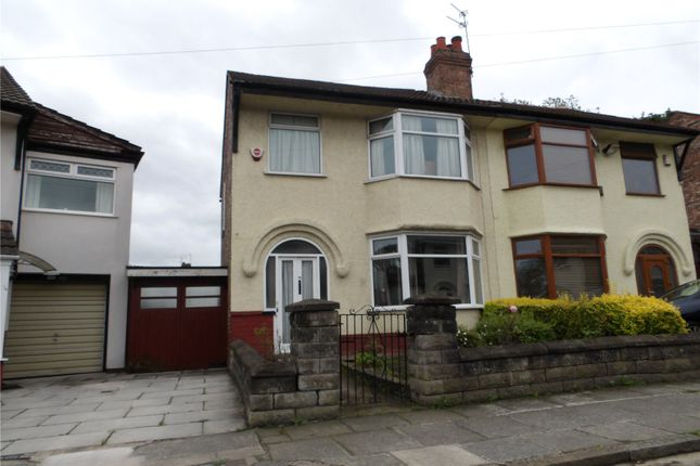 Thumbnail Semi-detached house for sale in Alvanley Road, West Derby, Liverpool, Merseyside