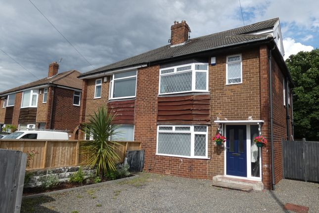 Thumbnail Semi-detached house for sale in Manston Approach, Leeds