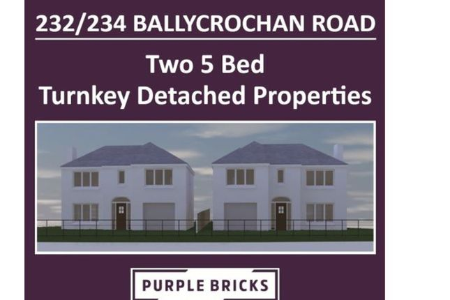 Thumbnail Detached house for sale in Ballycrochan Road, Bangor