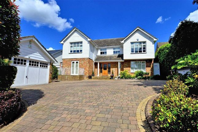 Thumbnail Detached house for sale in Hill Road, Theydon Bois, Essex