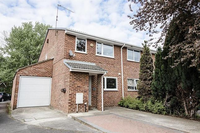 Thumbnail Terraced house for sale in Dawn Redwood Close, Horton, Slough