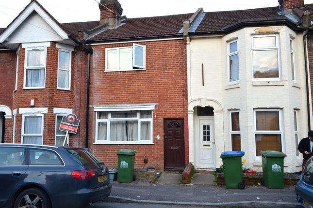 Thumbnail Terraced house to rent in Thackery Road, Portswood, Southampton