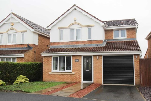 Thumbnail Detached house for sale in Longhirst Drive, Southfield Gardens, Cramlington