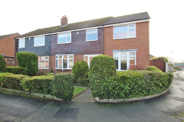 Thumbnail Semi-detached house for sale in Dorset Way, Woolston, Warrington