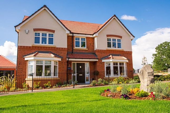 "Thumbnail Detached house for sale in ""Honeybourne"" at Lowbrook Lane, Tidbury Green, Solihull"
