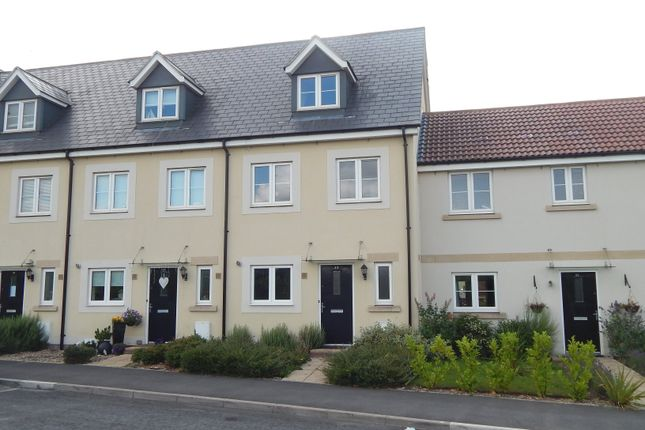 Thumbnail Terraced house to rent in Sherbourne Drive, Old Sarum, Salisbury